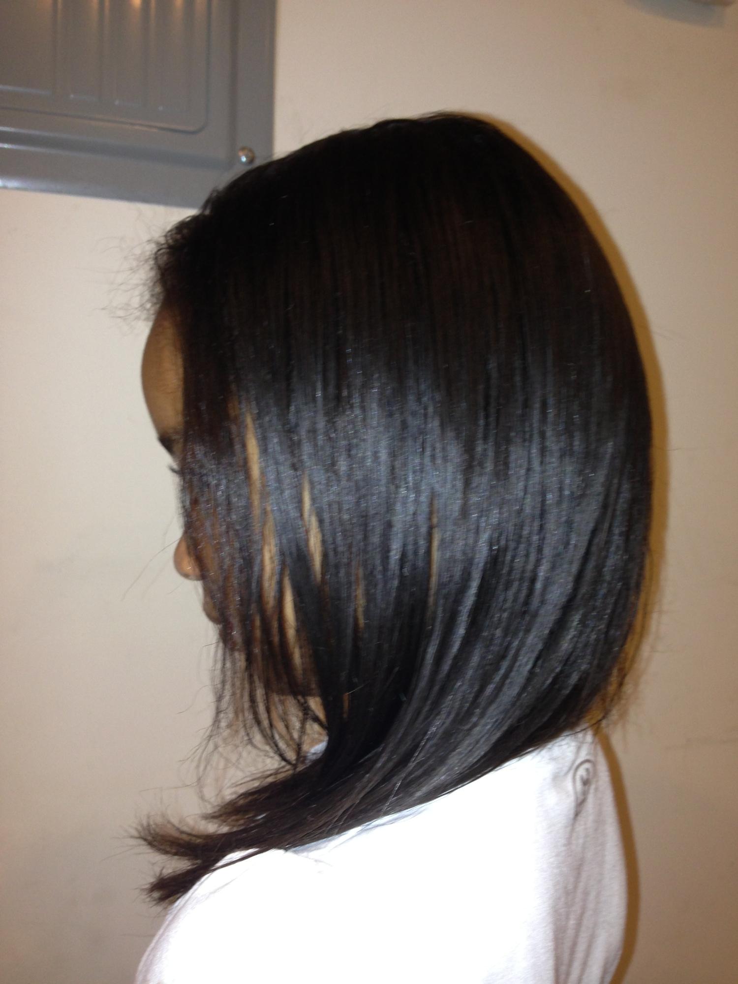 Brazilian Straightening Treatment At Ronda B Beauty