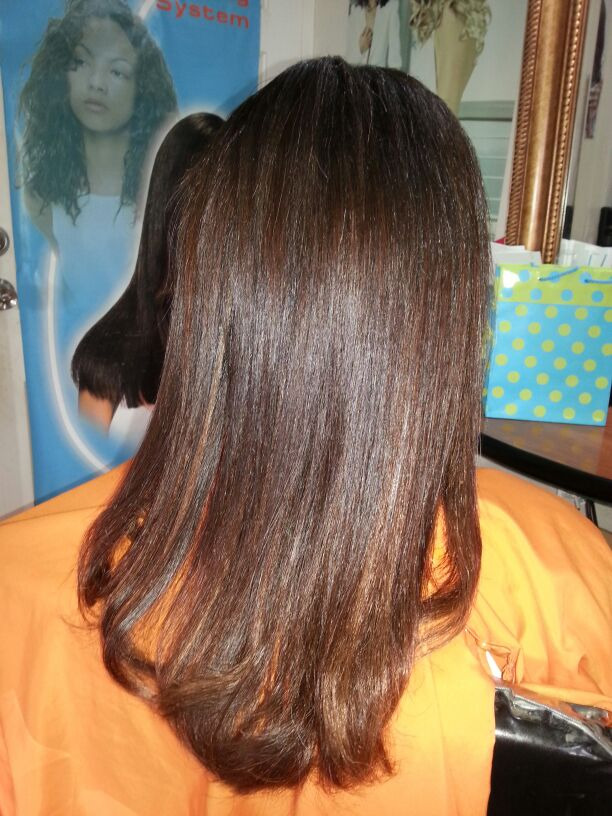 Brazilian Straightening Treatment At Ronda B Beauty